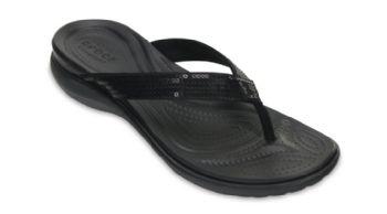 Crocs Womens Capri Sequin Flip